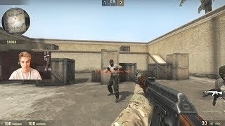 CS:GO KID 1V1S ME FOR A KNIFE