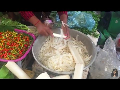 Asian Street Food, Art Of Living In Market, Market Street Food In My Village