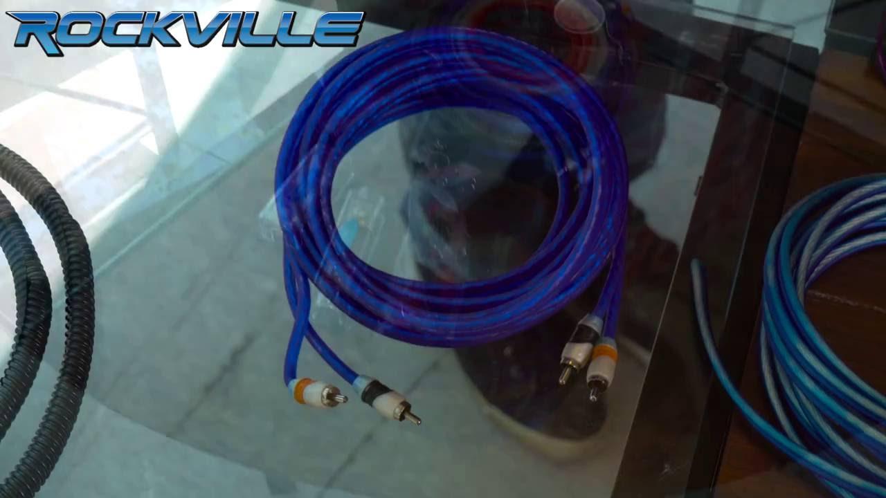 Unboxing Rockville RDA4+8K Dual 4/8 AWG Car Multi-Amp Installation ...
