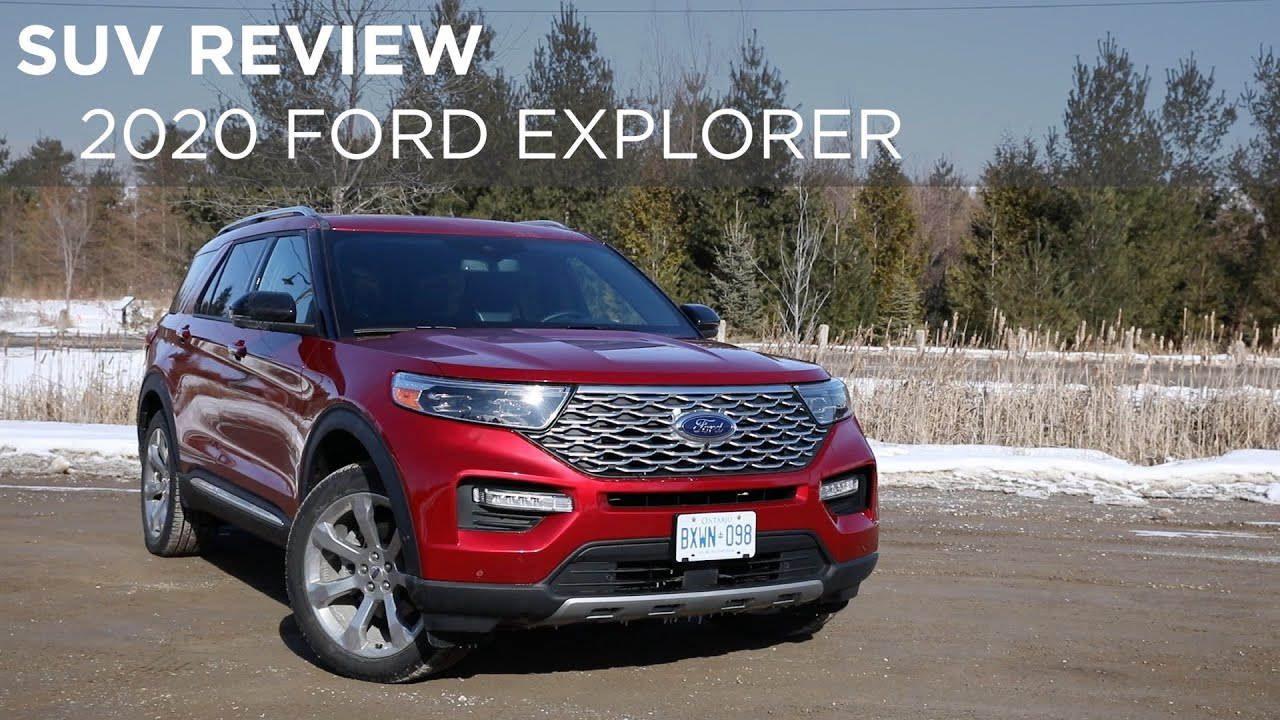 2020 Ford Explorer Suv Review Driving Ca Youtube