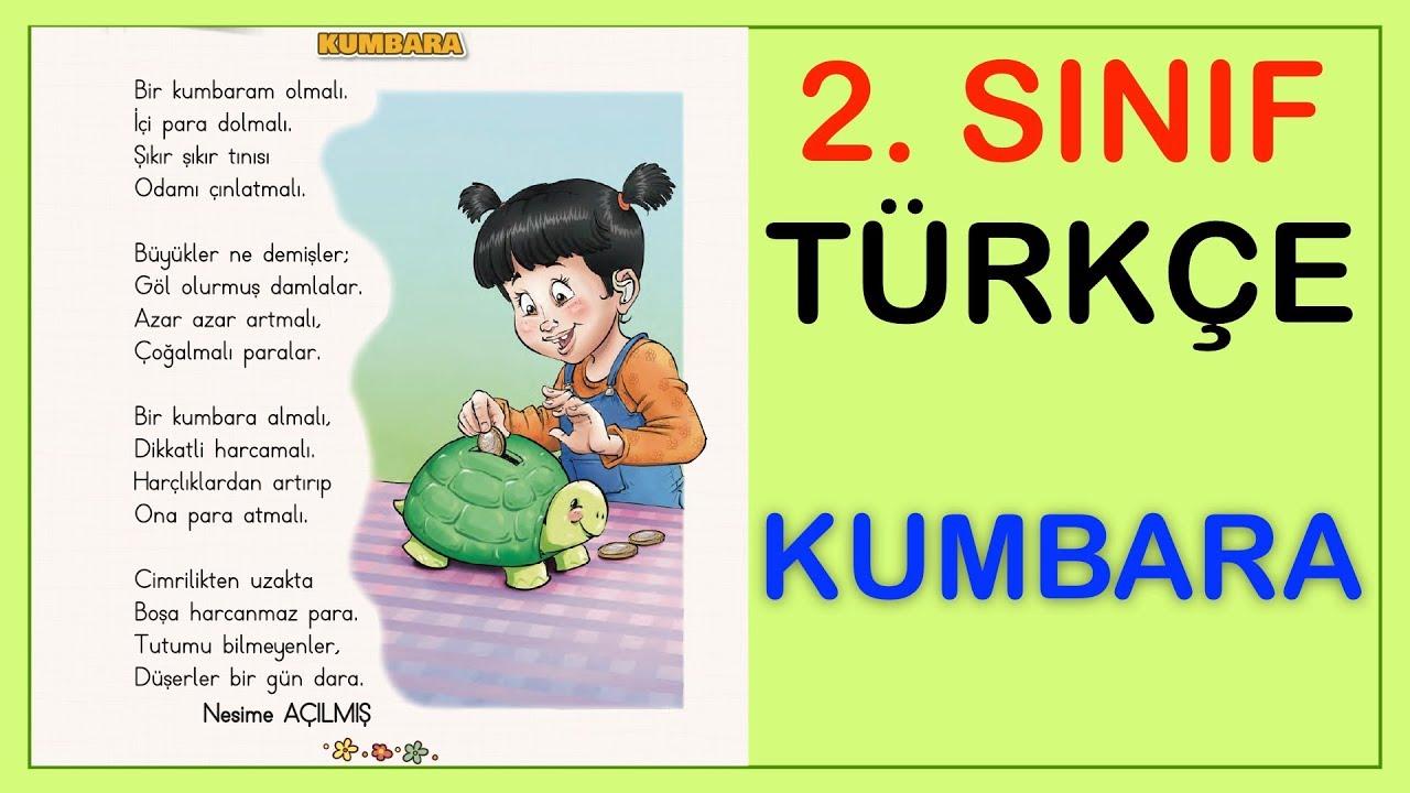 Kumbara Şiiri Serbest Okuma Metni   2. Sınıf Türkçe Dersi