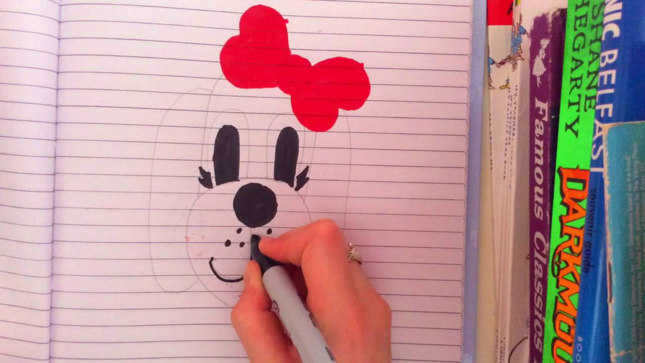 how to draw a dog face youtube