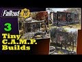 Fallout 76 C.A.M.P. Build: Three Tiny, Easy to Move Camps
