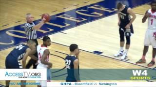 W4 Sports - GHPA - Bloomfield vs. Newington - 12/17/2016