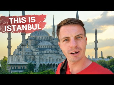 Flying to Istanbul - First Impressions of Turkey