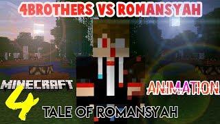 Masa Lalu 4Brother dan Romansyah  - 4 Brother VS Romansyah   Minecraft animation Indonesia (eps. 4)