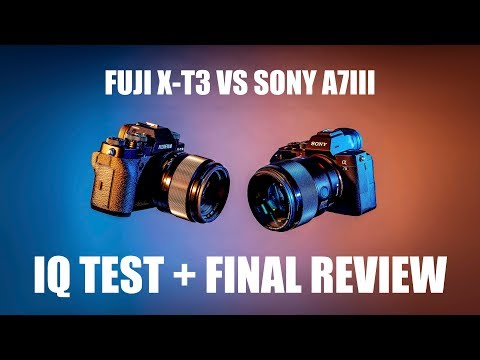 ULTIMATE Fuji X-T3 vs A7iii Image Quality Comparison + Final Review || Gear Talk #3
