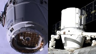 SpaceX CRS-17: Dragon berthing