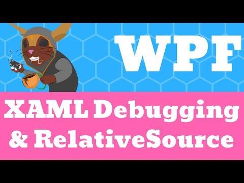 WPF RelativeSource & XAML Debugging