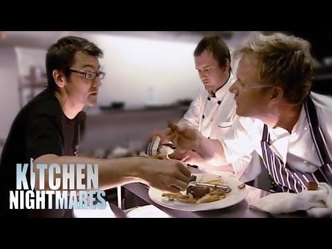 Gordon Calls Restaurant Owner an Idiot - Kitchen Nightmares