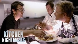 Gordon Calls Restaurant Owner an Idiot - Kitchen Nightmares