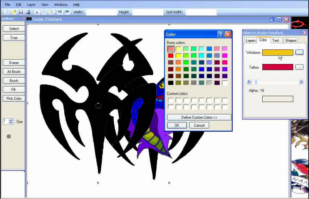 Tattoo designs tattoo software youtube Art design software