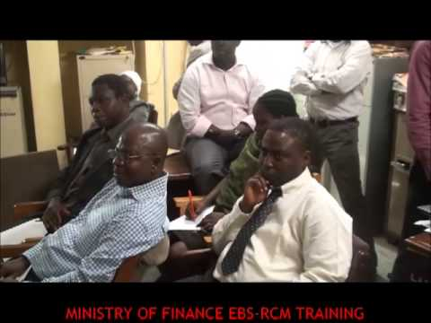EBSRCM TRAINING WITH MINISTRY OF FINANCE