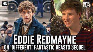 Eddie Redmayne on