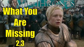 Game of Thrones: What You Are Missing 2.3