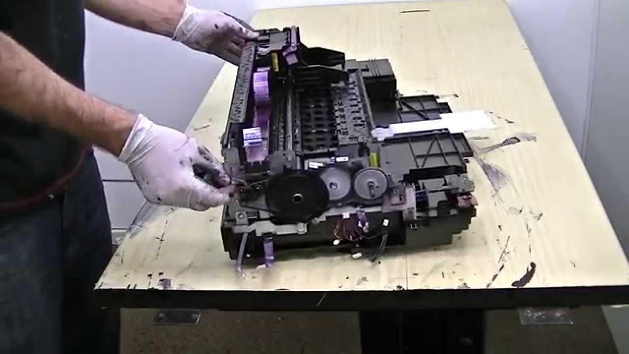 Desmontando Hp Pro 8610 Parte 2 Youtube