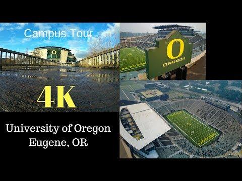 (4K)University Of Oregon - Explore In 5 Minutes #Ducks