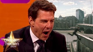 Tom Cruise Reacts To Slow-mo Footage Of How He Broke His Ankle   The Graham Norton Show