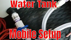 Mobile detailing water tank setup | more in depth video