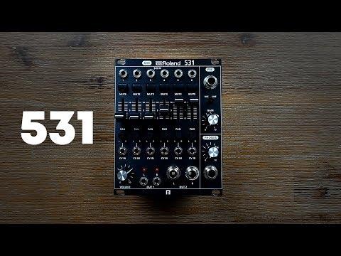 Roland System-500 531 Eurorack Mixer Module