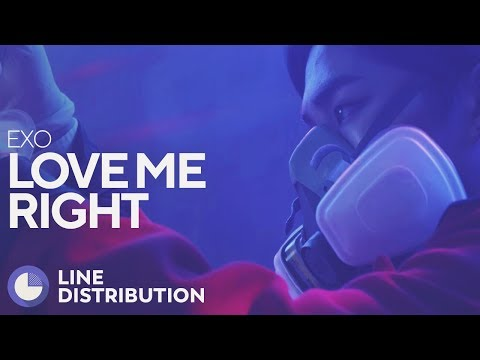 EXO - Love Me Right (Line Distribution)