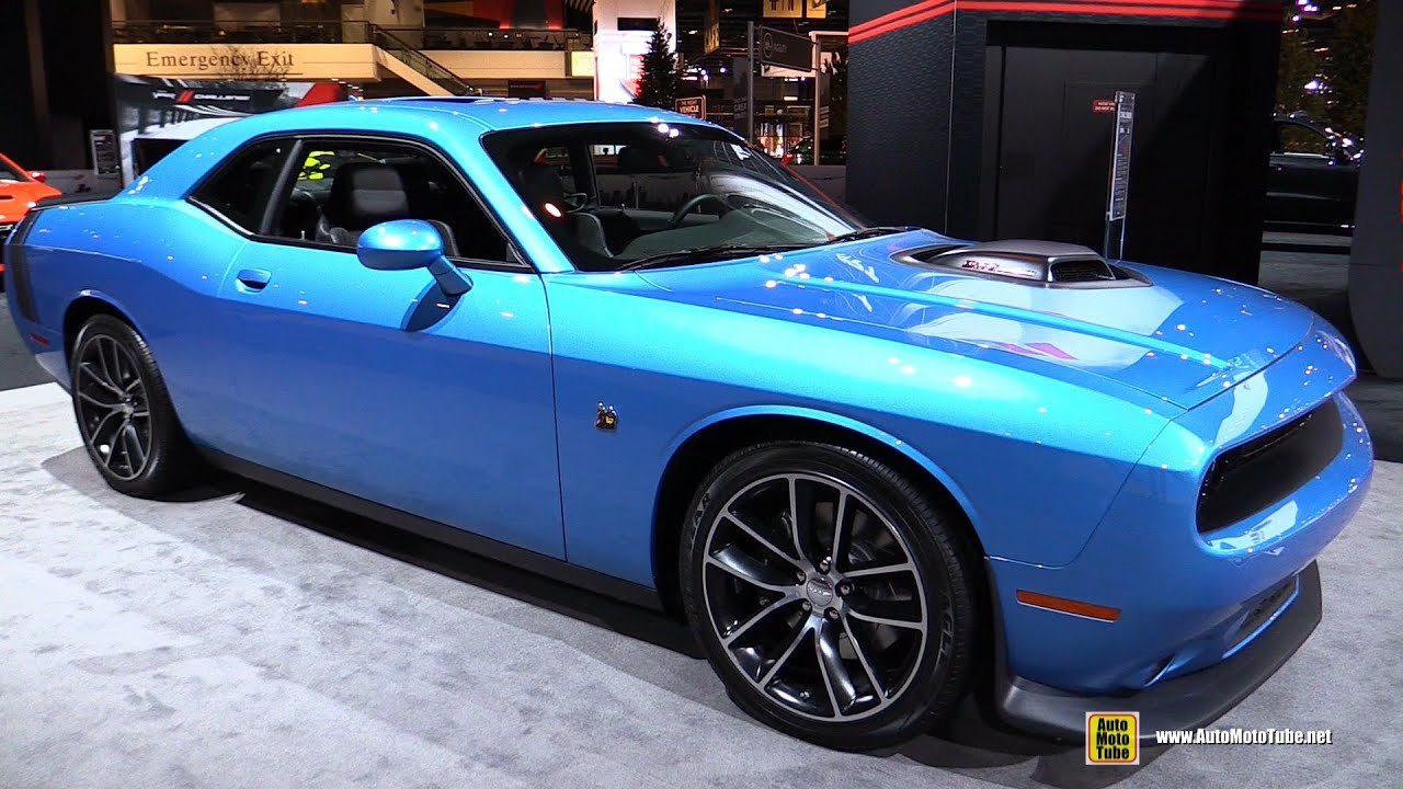 2016 dodge challenger 392 shaker scat pack exterior. Black Bedroom Furniture Sets. Home Design Ideas