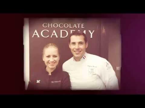 Nina Tarasova - master-class in Chocolate Academy Russia