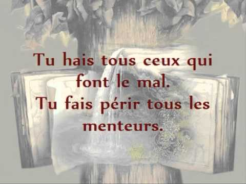 Bible Audio Psaume 5 - YouTube