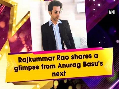 Rajkummar Rao shares a glimpse from Anurag Basu's next Mp3