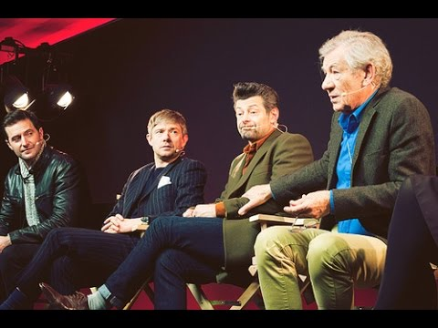 The Hobbit Cast Interview - Ian McKellen, Martin Freeman, Richard Armitage and Andy Serkis