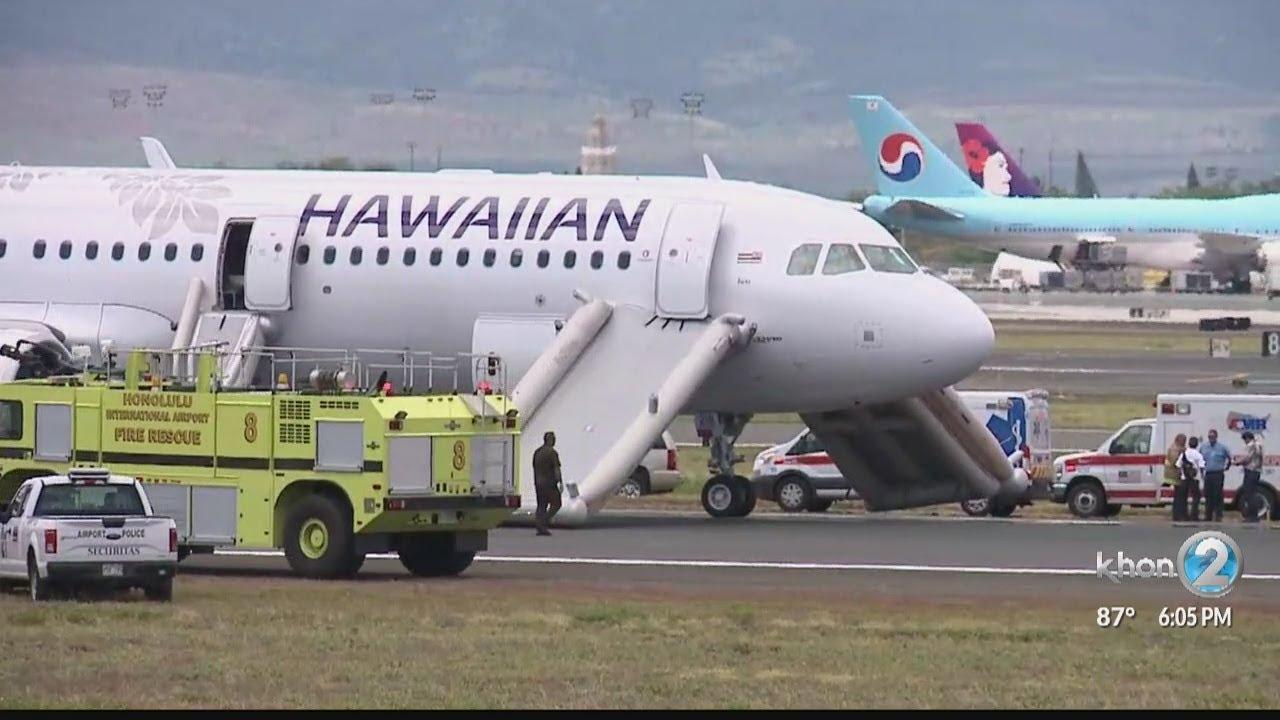 Horror in the sky after smoke fills cabin of Hawaiian