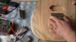 видео Шаблон корпуса гитары