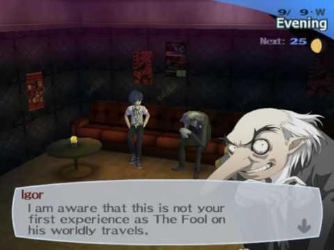 Persona 3 FES Mod - Igor Social Link