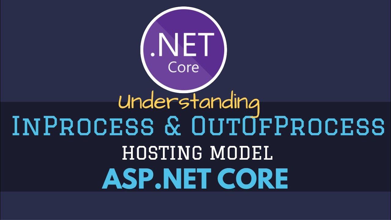 Understanding InProcess & OutOfProcess Hosting Model in ASP.NET Core