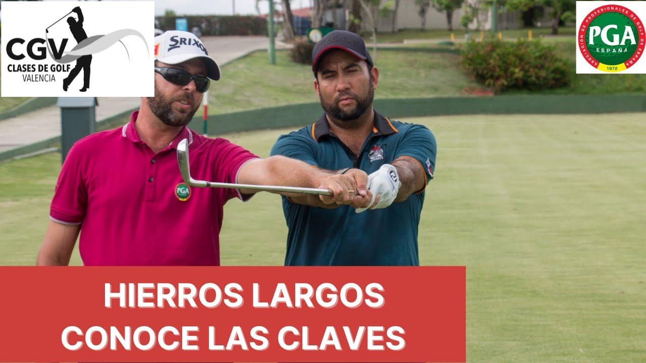 CLAVES para los HIERROS LARGOS- Consejos de Golf en Español