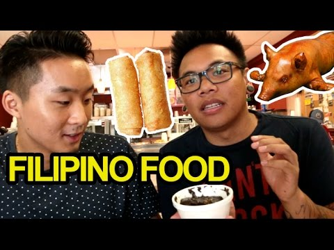 FILIPINO HOMESTYLE FOOD w/ @AJRafael - Fung Bros Food