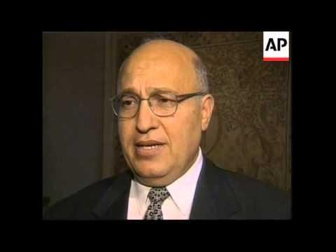 USA: MIDDLE EAST PEACE PROCESS TALKS