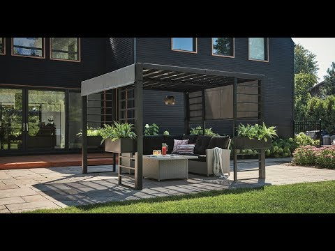 New Patio Furniture, Modern Gazebos U0026 Outdoor Decorating Trends For 2018