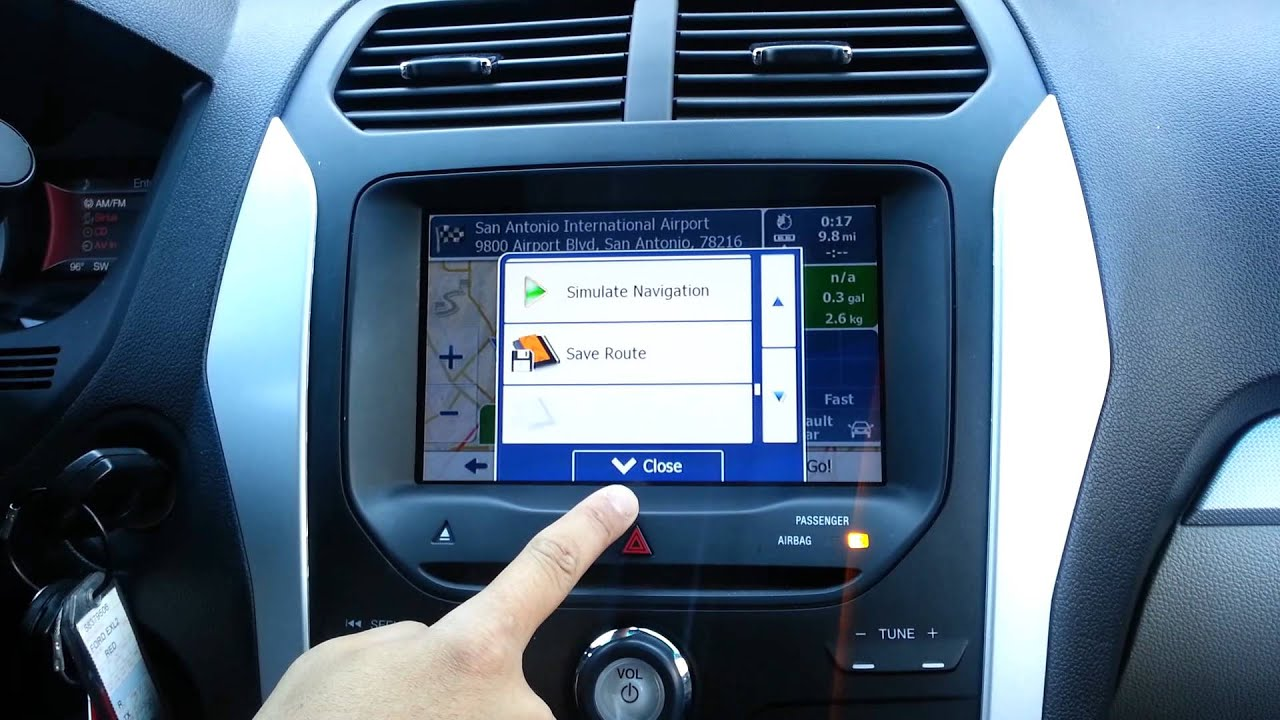 2012 2013 Ford Explorer Gps Upgrade Myfordtouch 8 Quot Hd