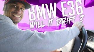 JP Performance - BMW E36 |  Will it drift ??