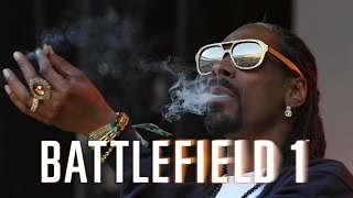 Snoop Dogg playing Battlefield 1 in