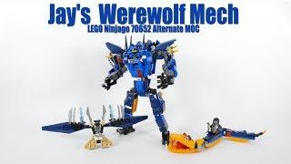 Jay's Werewolf Mech - Lego Ninjago 70652 Alternate MOC