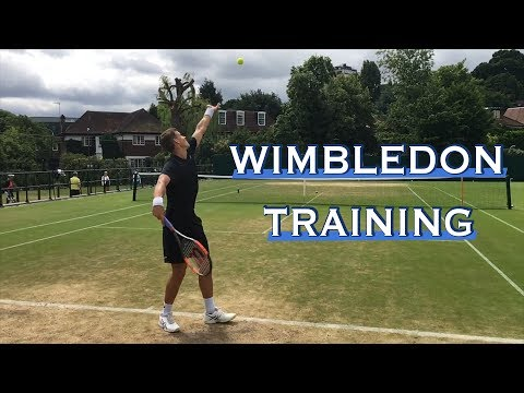 Wimbledon Training [w/ VASEK POSPISIL]