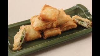 Jain Paneer Chilli Parcel | Jain Recipes | Sanjeev Kapoor Khazana