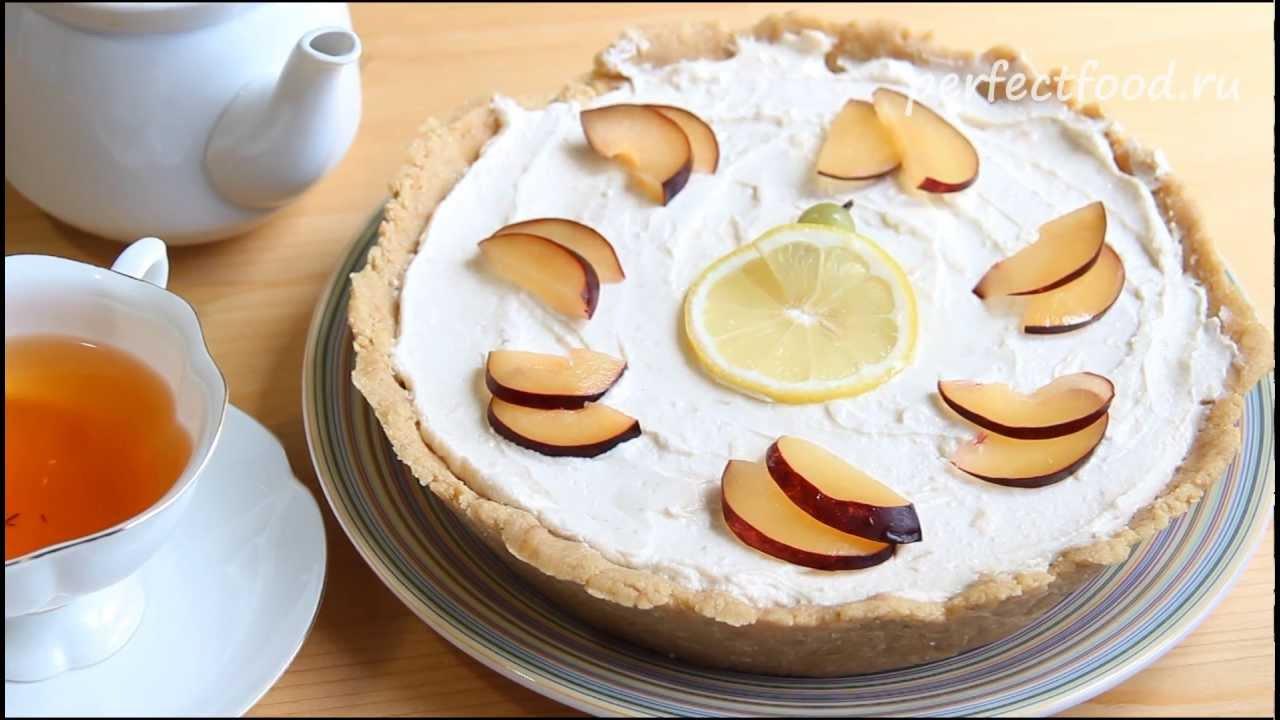 323Творожный торт нежный рецепт