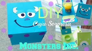 ♡ DIY ♡ Caja Sorpresa ♡ MONSTERS INC. ♡ Detalles para regalar ♡
