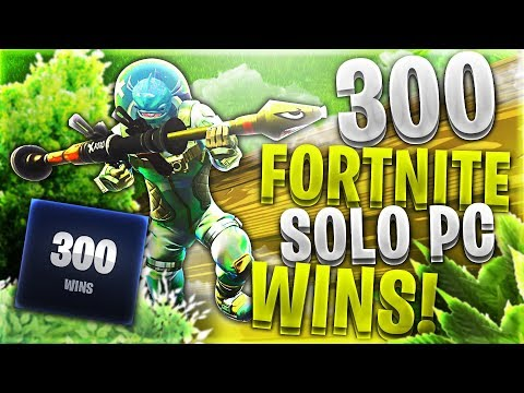 300 FORTNITE SOLO WINS ON PC! *Red Carl Fortnite Battle Royale Gameplay*