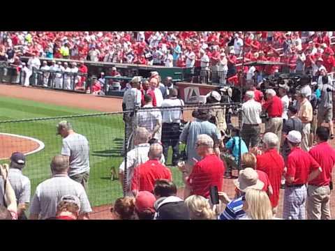 Derek Jeter Cardinals Retirement