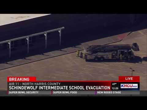 Schindewolf Intermediate School evacuation