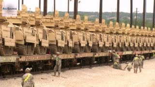 M1 Abrams Tanks & Bradleys -
